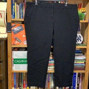 VINCE CAMUTO-women's black short stretch dress pantsuits